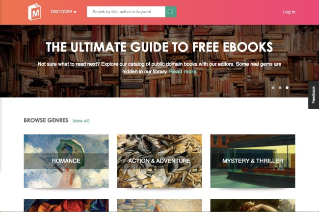 Manybooks free ebooks