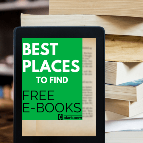 Best Places to Find Free E-Books