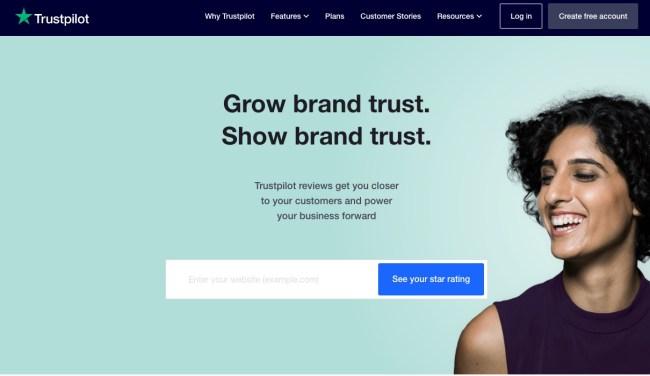 Trustpilot for business