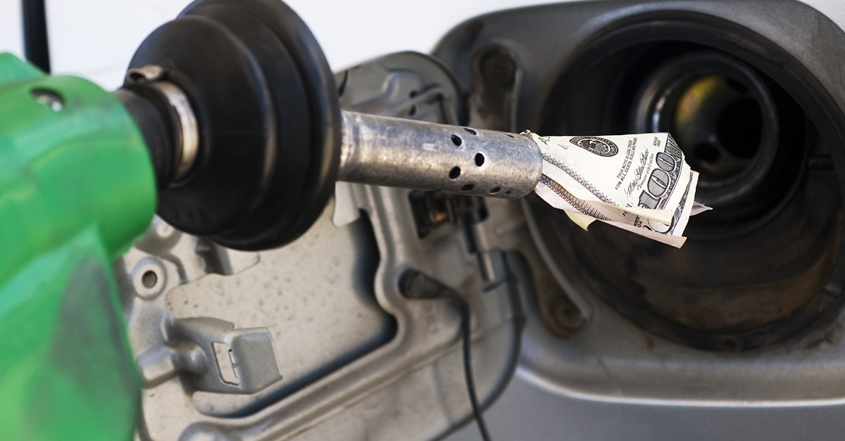 Save gas money at the pump