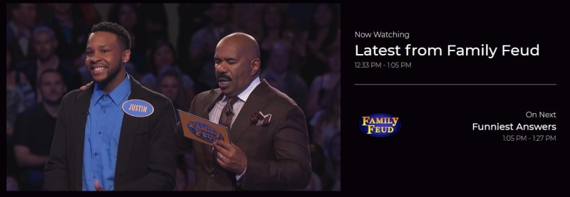 Family Feud has its own channel on Redbox streaming.