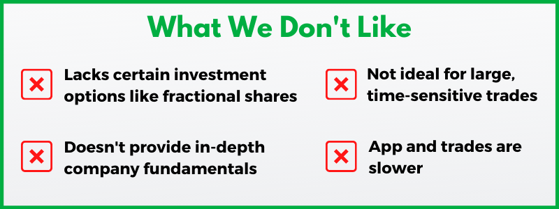 Webull vs. Robinhood is a common comparison among millenials looking for free stock trading apps.
