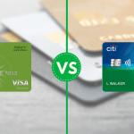 Fidelity Rewards Visa Citi Double Cash comparison