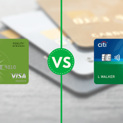 Fidelity Rewards Visa Citi Double Cash comparison