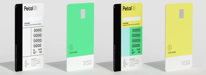 The Petal Card offers a change to earn cash back and build credit.
