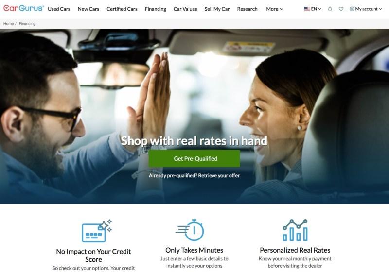 CarGurus - Financing