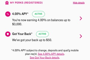 T-Mobile Money perks for wireless customers