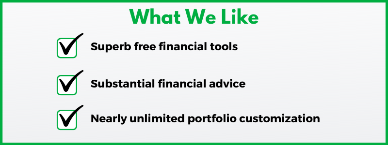 Personal Capital review: Free financial planning tools and portfolio customization are two of Personal Capital's strengths.