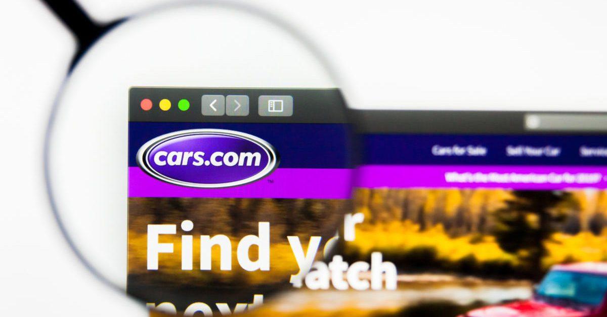 Cars.com website