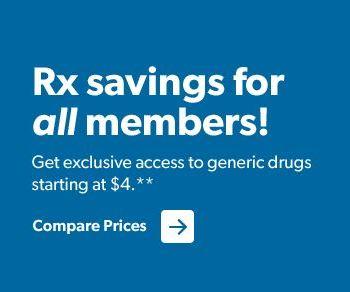 $4 prescriptions for Sam's Club members