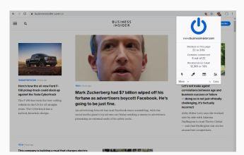 Ublock Origin ad blocker browser