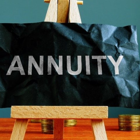 What is an annuity? A contract between you and an insurance company designed to provide you steady income in retirement.