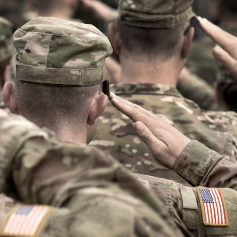 American Express waives credit card fees for military members.