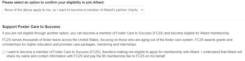 Alliant Credit Union charity donation