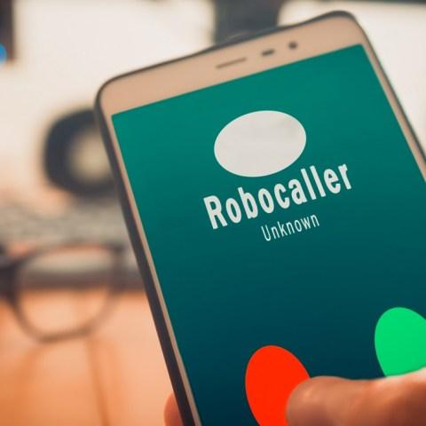 Robocall phone
