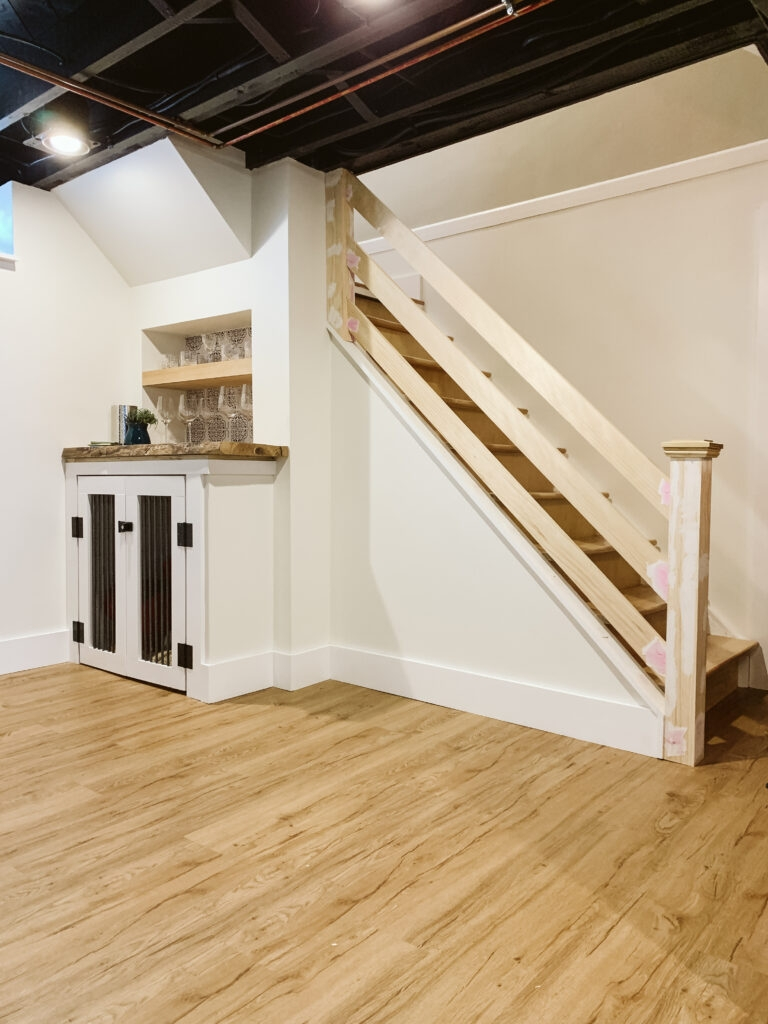 How To Build A Modern Horizontal Railing Clark Aldine   Diy Farmhouse Stair Railing   Country Style   U Shaped   Horizontal Bar   Upcycled   Low Cost