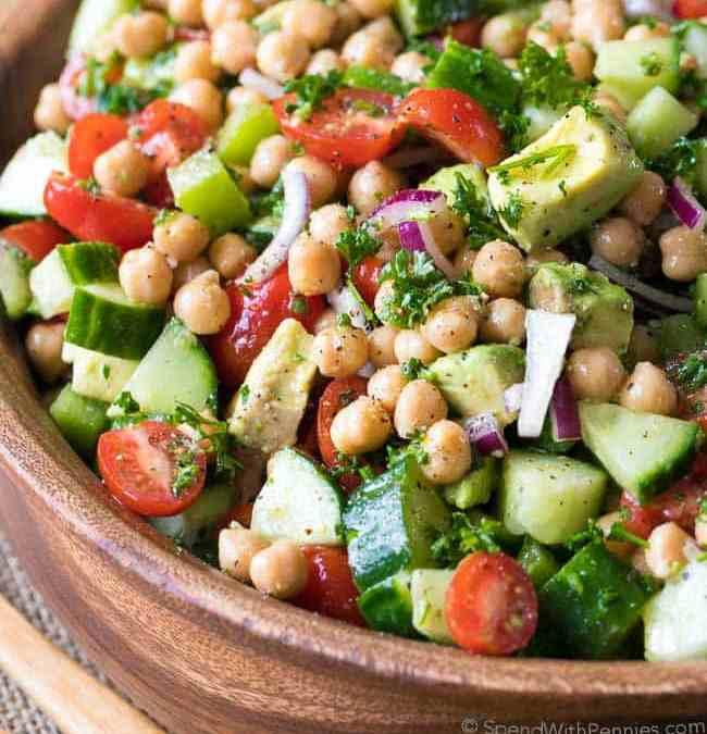 Rhonda's Chickpea Salad
