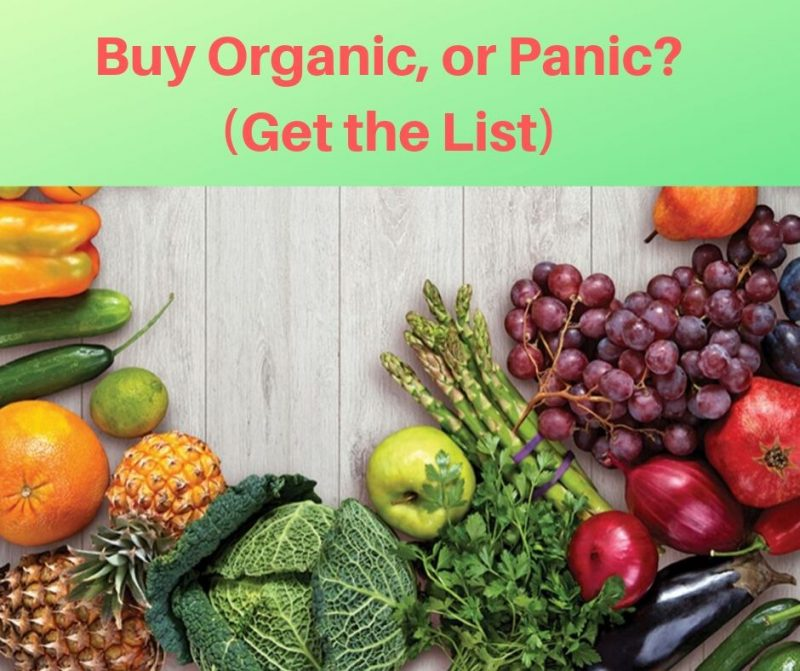 foods that you should eat that are organic