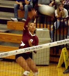 zoe mcbride volleyball