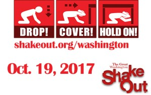 Great Washington ShakeOut & Contest @ Washington State