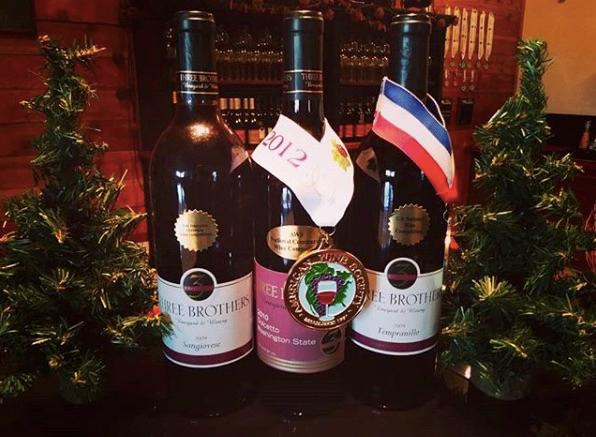 Three Brothers Vineyard and Winery Ridgfield