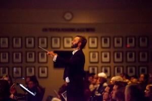 Dr Jacob Funk Clark College orchestra