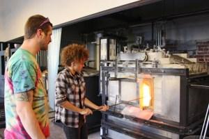 Firehouse Glass Andrew Leuck teaching