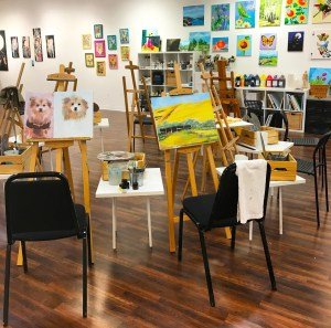 Vancouver Art Space Easels