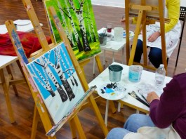 Vancouver Art Space Painting Class