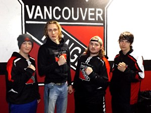 Vancouver Rangers hockey players
