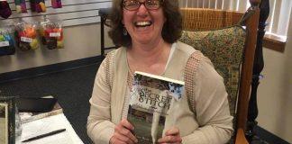 C Jane Reid Author at Book signing