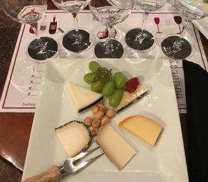 Salud Camas Yolanda Taylor wine flight