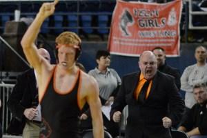 clark county state wrestling John Carver
