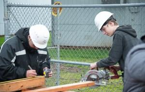 Evergreen Public School Students Habitat for Humanity student work