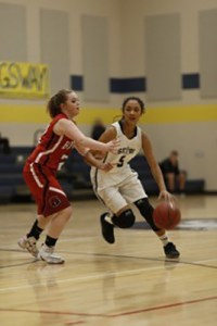 Seton Sophomore point guard Jasmine Morgan