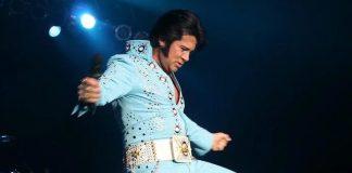 Mark Stevenz as Elvis - Courtesy of Mark Stevenz website