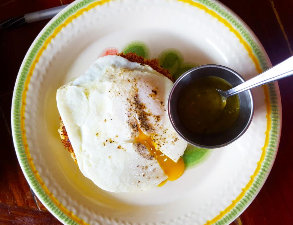 OurBar Washougal Egg and Potato