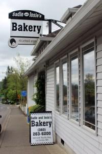 Sadie and Josies Bakery Outside