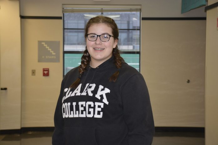 WHS sophomore, Kirstyn Bisig - CTE Month