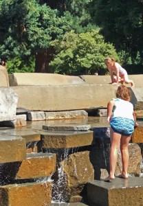 Esther Short Park Fountain