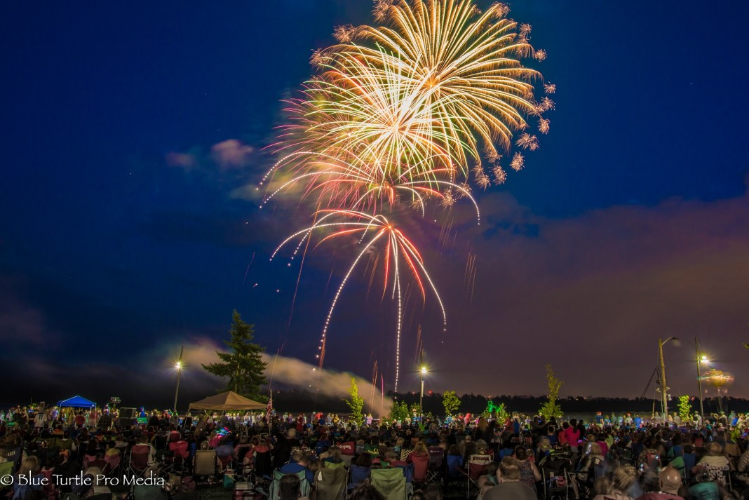 Washougal 4th of July Concert and Celebration fireworks