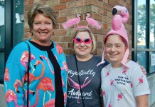 Jenny Bunch, Shannon Van Horn and Stella Van Horn, 2018 Aug FF