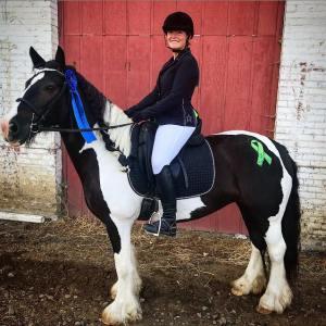 Amanda Ableidinger Ravenna Riders 4H Vancouver Lyme