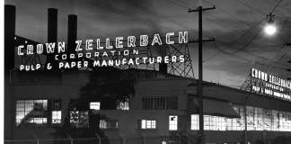 Downtown Camas mill-Crown-Zellerbach