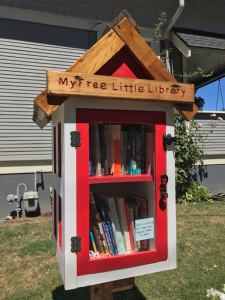 Kids educational activities vancouver- Mini-Library