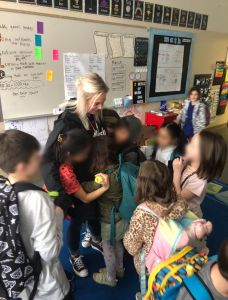 Shelby Artman Hough Elementary-Students-Hugging