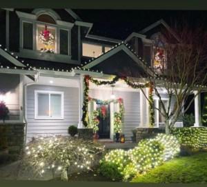 Holiday Lights Camas -Dahlia Drive