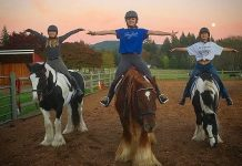 Ravenna riders 4-h covid stretching