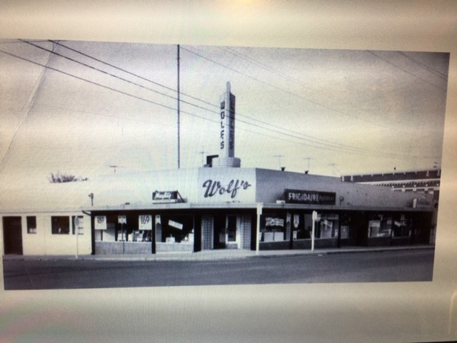 Clark County history Morris Wolf furniture andappliance store