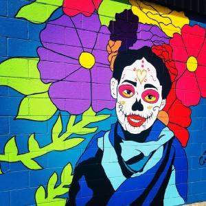 Vancouver-Mural-Society-Sugar-Skull-Girl